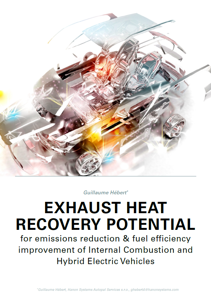 Automotive Exhaust Heat Recovery Potential