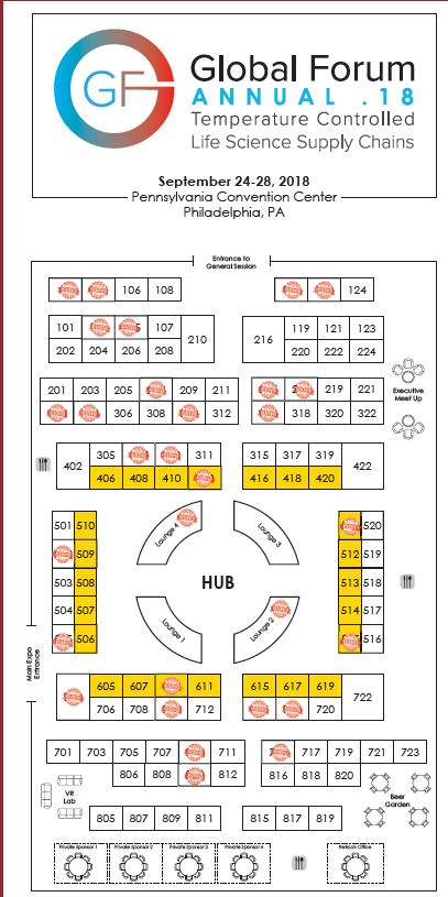 Global Forum Annual Exhibition Floor Plan