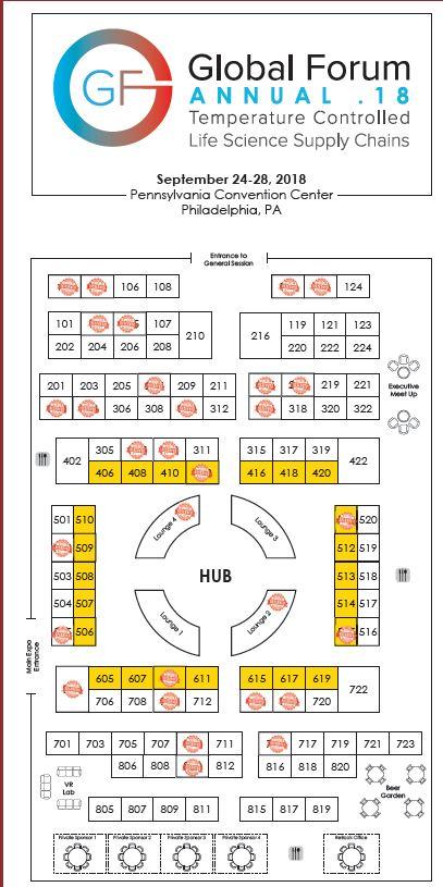 Global Forum Annual Exhibition Floor Plan