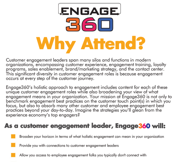 Customer Engagement at Engage360