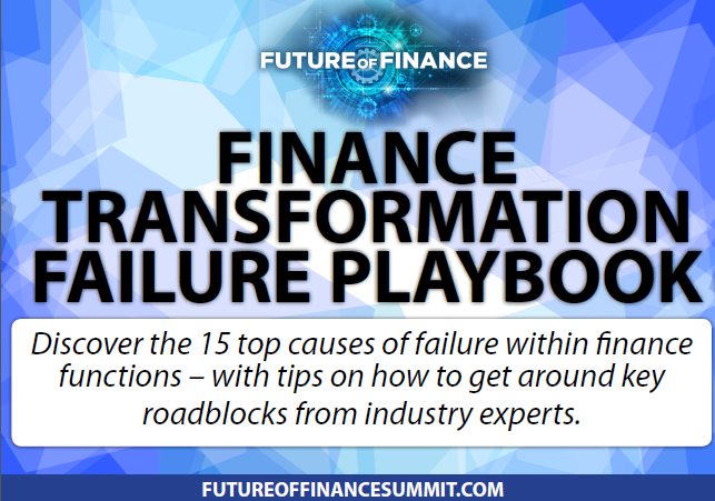 Finance Transformation Failure Playbook