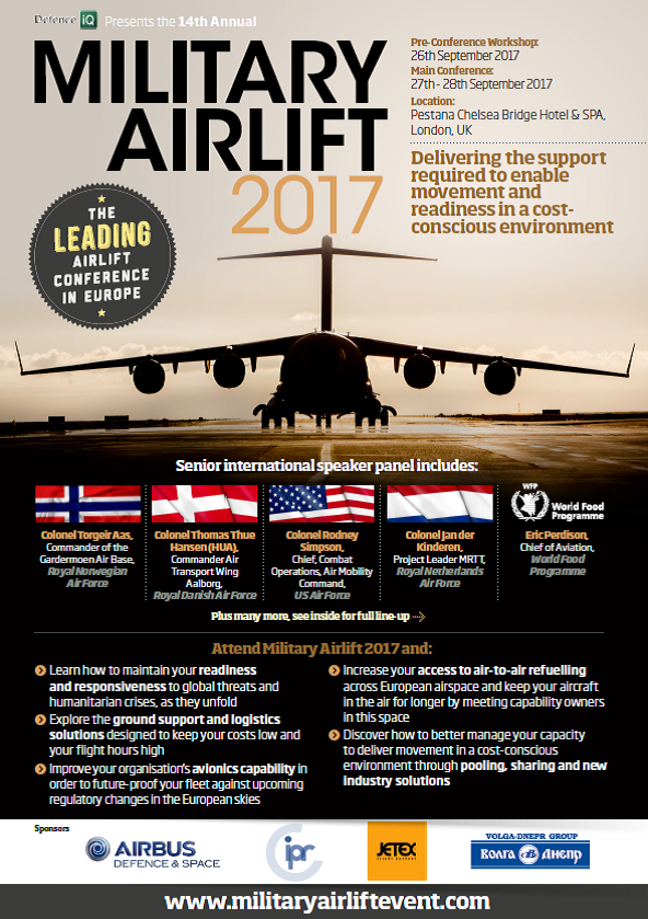 Download the Military Airlift 2017 agenda