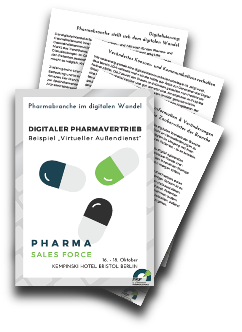 Pharmabranche im digitalen Wandel