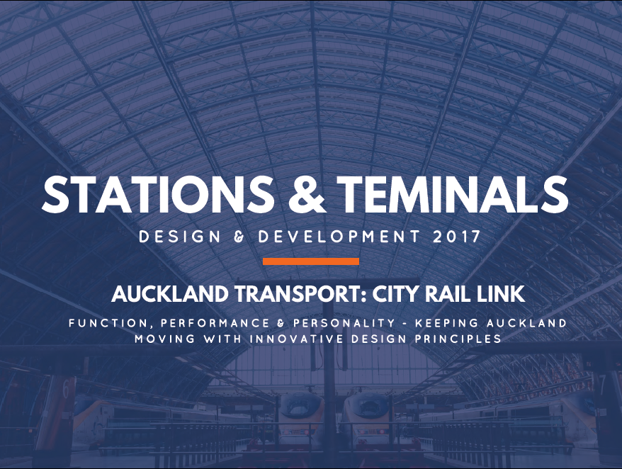 Function, Performance & Personality - Keeping Auckland Moving with Innovative Design Principles