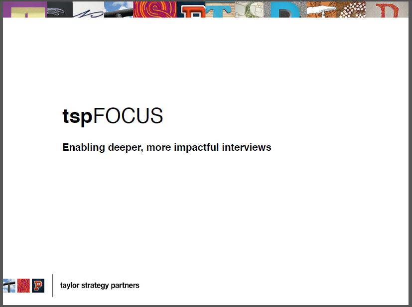Enabling Deeper More Impactful Interviews