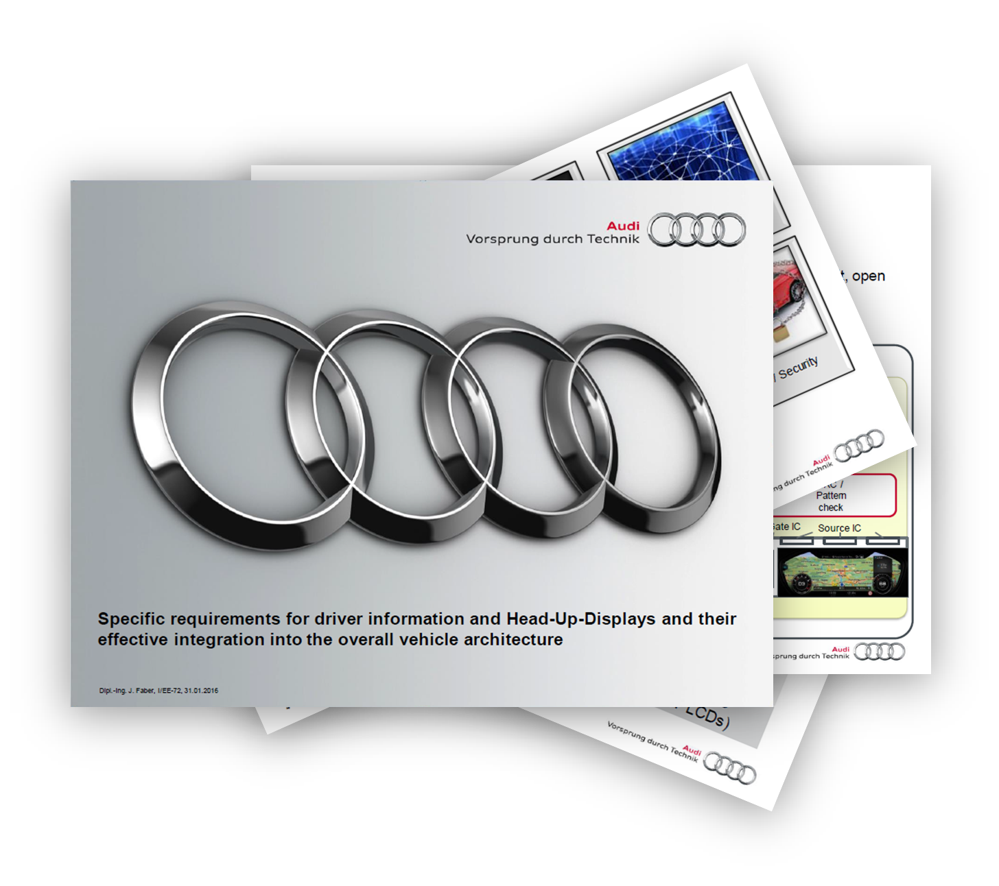 Jan Faber from Audi about specific requirements for driver information and Head-Up-Dispays