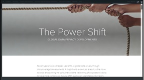 The Power Shift: Global Data Privacy Developments