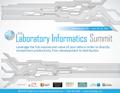 Laboratory Informatics Agenda 2017