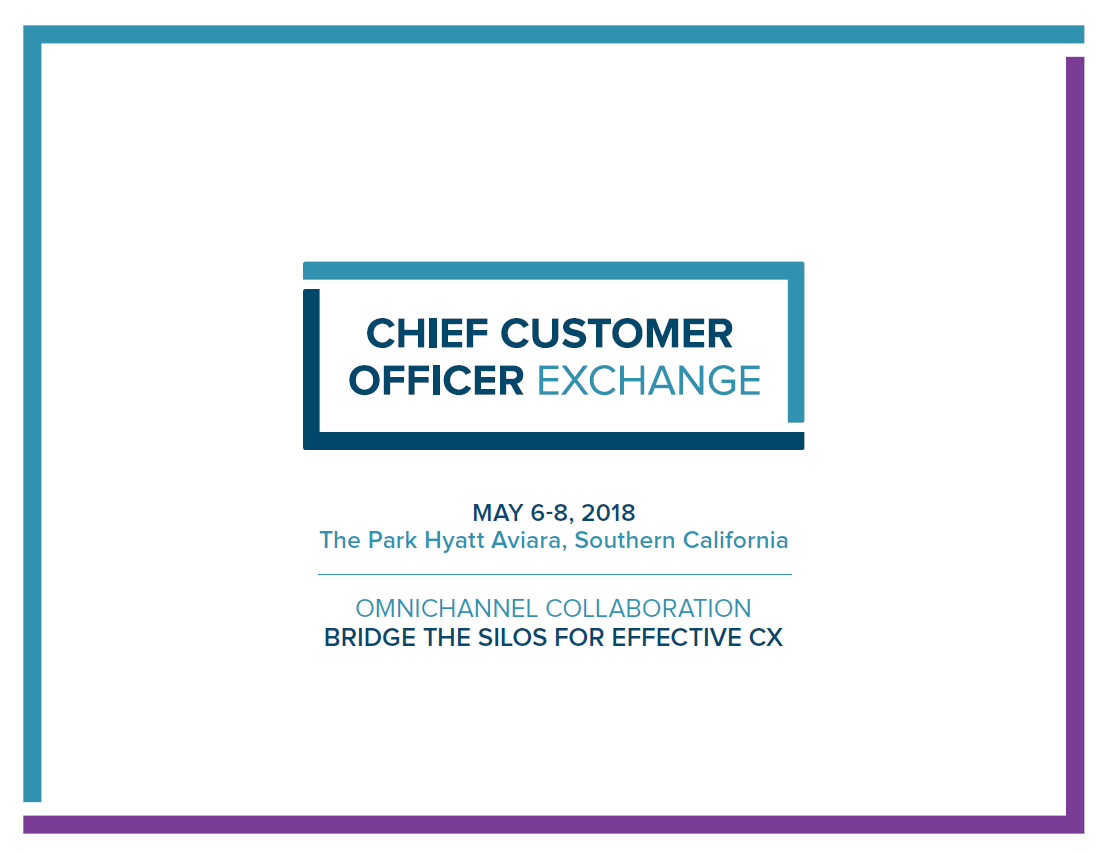 CCO Exchange May 2018 Brochure