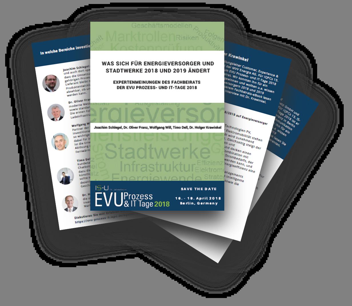 Was sich für EVU und Stadtwerke 2018 und 2019 ändert