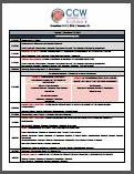 CCW Canada Main Conference Agenda Onsite