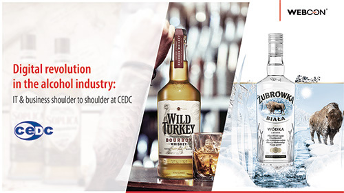 Digital revolution in the alcohol industry: IT & business shoulder to shoulder at CEDC