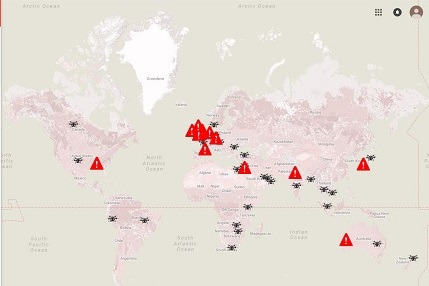Drone Regulations Worldwide: Map