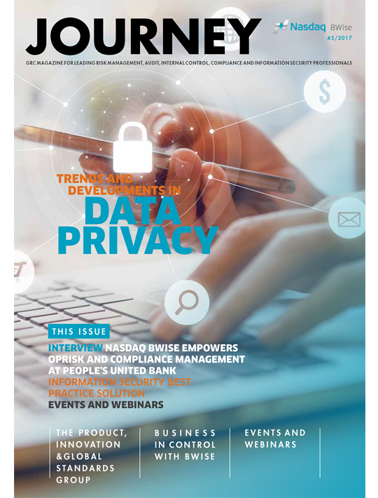 GRC Journey Magazine: Trends And Developments In Data Privacy