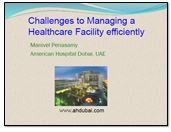 Challenges to managing a healthcare facility efficiently