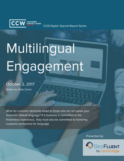 CCW Digital Special Report - Multilingual Engagement