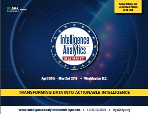 Intelligence Analytics Summit 2018 Agenda