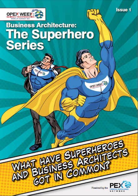 What have Superheroes and Business Architects got in Common?