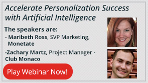 Accelerate Personalization Success with Artificial Intelligence