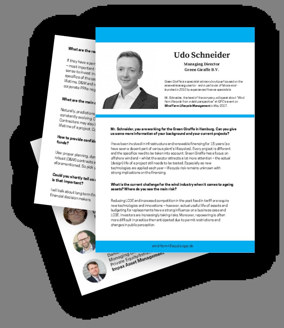 Interview with Udo Schneider from Green Giraffe