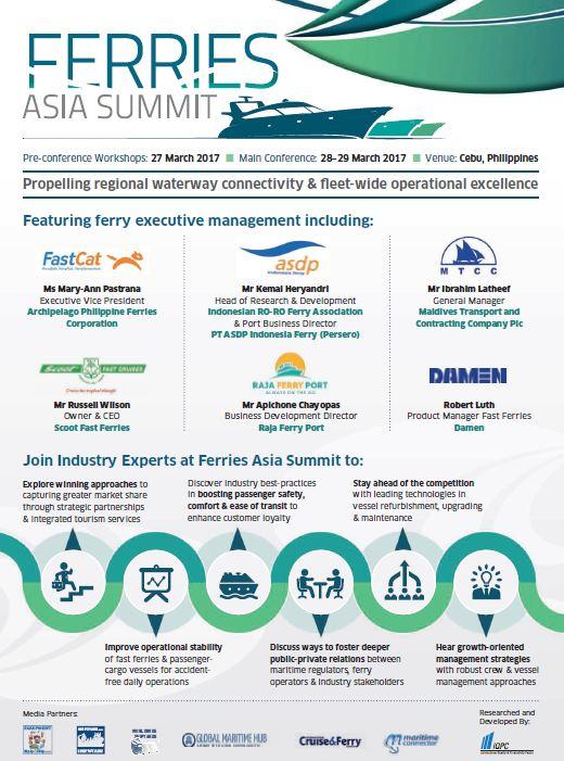 Ferries Asia Summit Brochure