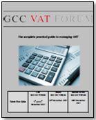 4th GCC VAT Forum - Agenda Preview