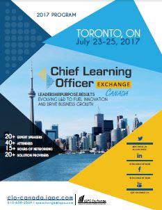 2017 CLO Exchange Canada Agenda