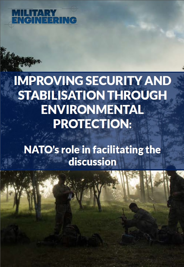 Improving security and stabilisation through environmental protection: NATO's role in facilitating the discussion