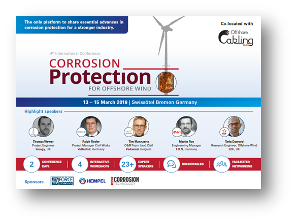 4th International Conference Corrosion Protection for Offshore Wind