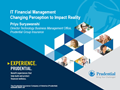 IT Financial Management Changing Perception to Impact Reality