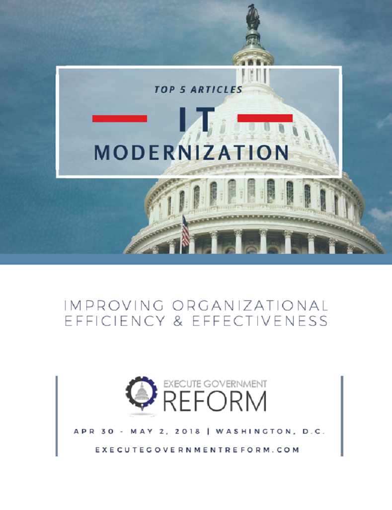 Top 5 Articles on Government IT Modernization