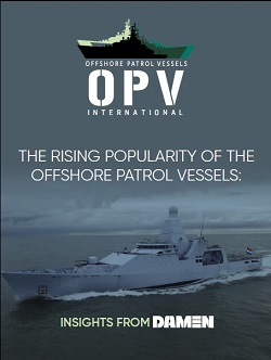 Interview with Damen: The Rising Popularity of Offshore Patrol Vessels
