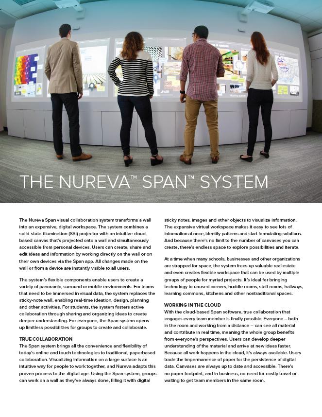 The Nureva™ Span™ System