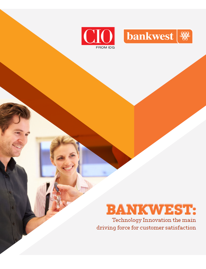 BANKWEST: Technology Innovation the main driving force for customer satisfaction