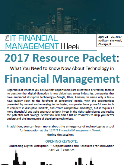 ITFM Technology Resources Packet