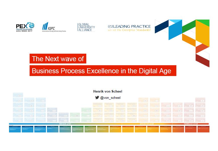 The Next Wave of Business Process Excellence in the Digital Age