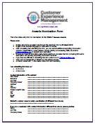 Awards Nomination Form