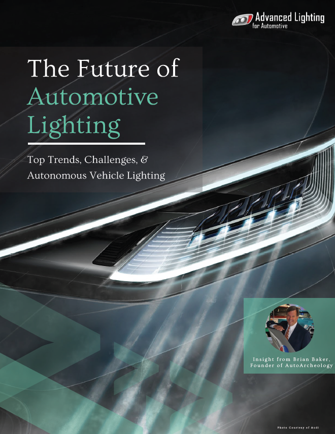 The Future Of Automotive Lighting Top Trends Challenges Autonomous Vehicle Lighting