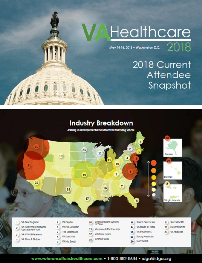 VA Healthcare 2019: Current Attendee Snapshot