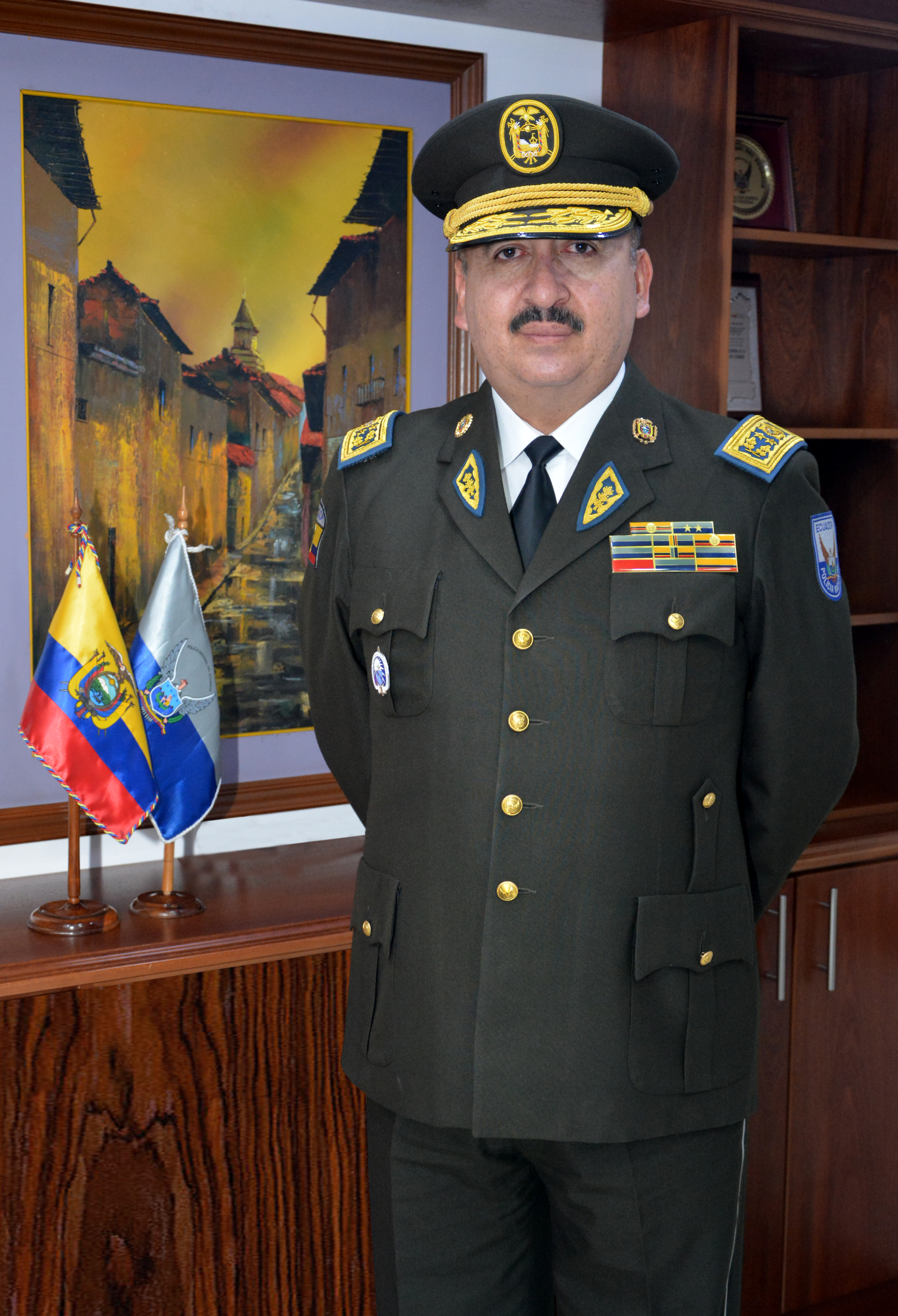 Inspector General Milton Gustavo Zárate Barreiros