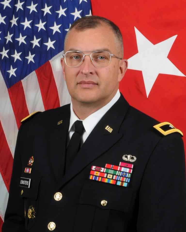 Major General  Clark LeMasters