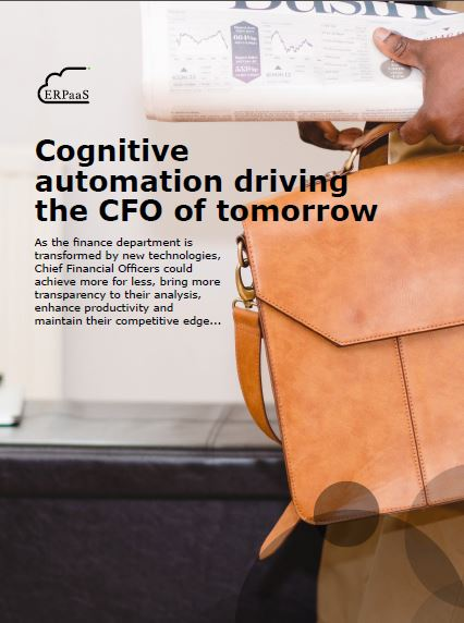 Cognitive automation driving the CFO of tomorrow