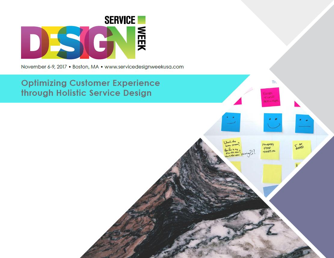 2017 Service Design Week Brochure