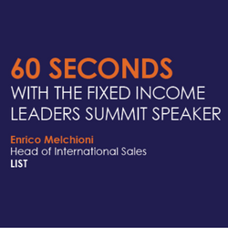 60 Seconds With Enrico Melchioni, Head of International Sales, LIST