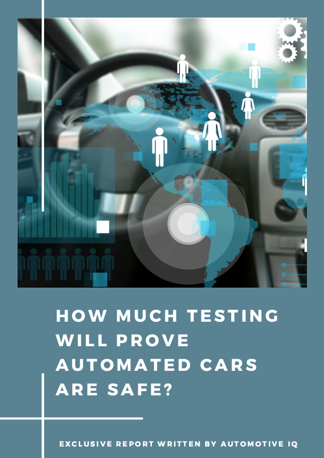 Report on How Much Testing Will Prove Automated Cars Are Safe