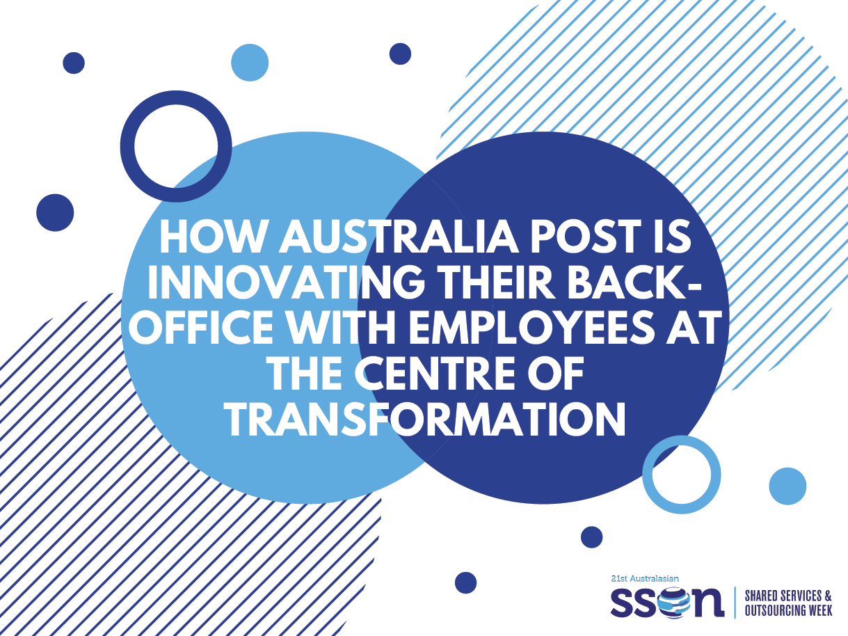 How Australia Post is innovating their back-office with employees at the centre of transformation