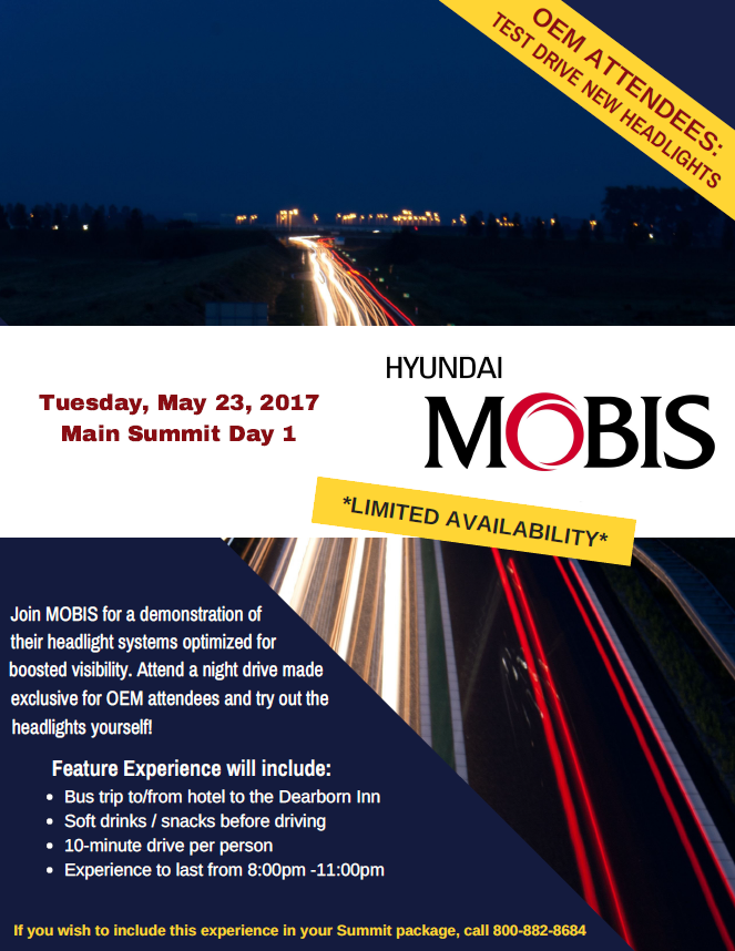 MOBIS Featured Experience