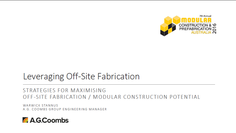 Leveraging the Prefabrication Hierarchy