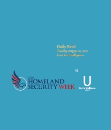 Homeland Security Week Daily Briefings