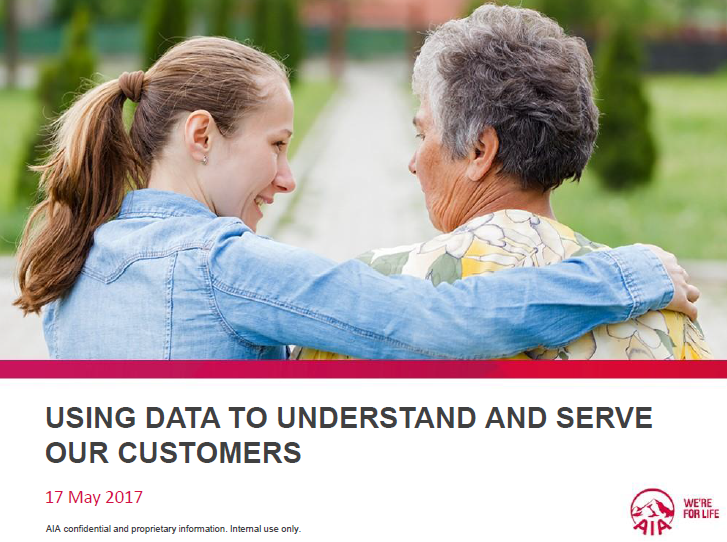 Using the Wealth of Data and Analytics to Better Know, Understand, and Serve Customers